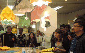Visit LED projecht in The Hague