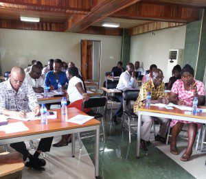 5C training Ghana March 2015