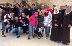 Group YEP Palestine last masterclass March 2015