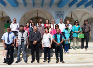 A visit to the municipality of Nabeul  in Tunis in 2014.