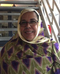 Mbarka Abdel Jelil, Shiraka participant from Mauritania
