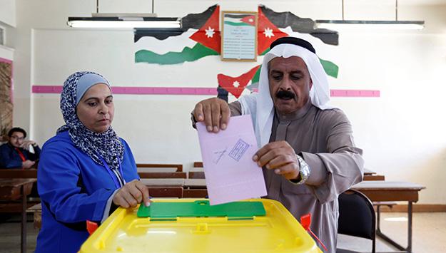 Jordan Elections - Amman